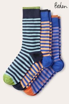 Boden藍色最愛襪三雙裝