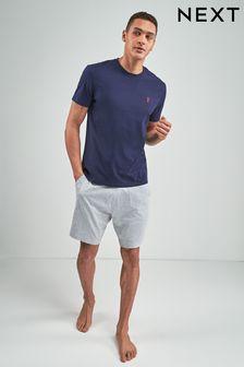 Piżama Jersey z krótkim rękawem