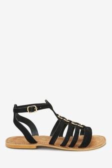 Sandále v gladiátorskom štýle