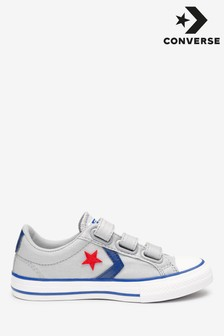 Converse Grey Star Player Trainers