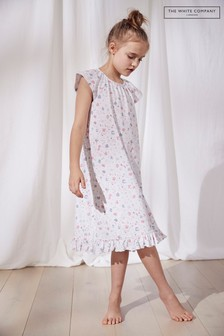 The White Company Multi Floral Print Nightdress