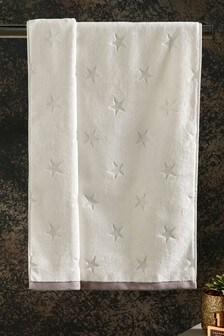 Silver Star Towel