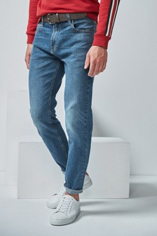 Jeans With Belt