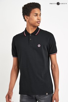 Pretty Green Barton Tipped Poloshirt