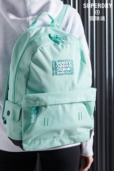 Superdry Green Pixie Dust Montana Rucksack