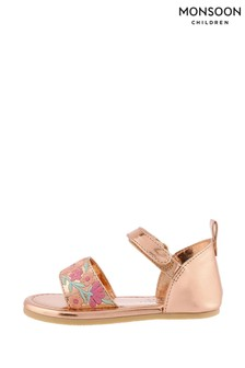 Monsoon Baby Embroidered Walker Sandals