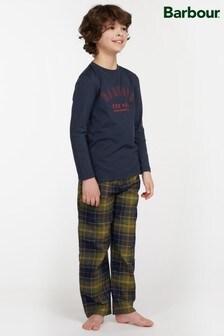 Barbour® Boys Tartan Leo Pyjama Set