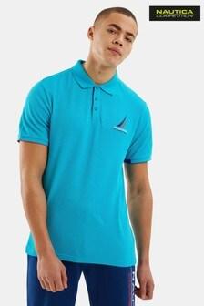 Nautica Competition Blue Coble Poloshirt