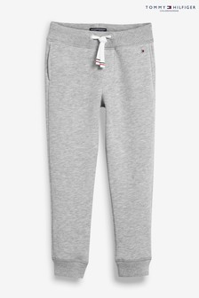Pantalon Tommy Hilfiger gris basique en molleton