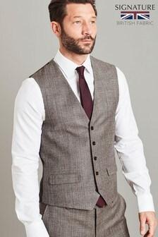 Signature Check Slim Fit Suit