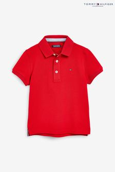 Tommy Hilfiger Red Polo Top