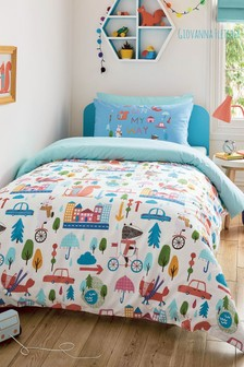 Giovanna Fletcher Exclusive to Next Travel Buddies Duvet Cover And Pillowcase Set