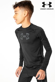Under Armour Baselayer, Schwarz