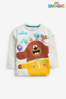 Long Sleeve Hey Duggee T-Shirt (3mths-8yrs)