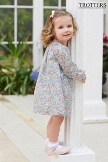 שמלה עם פפיון של Trotters London דגם Annabella בורוד