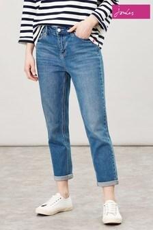 Joules Blue Etta Straight Leg Jeans