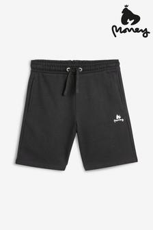 Pantalones cortos con detalle de la marca en negro de Money