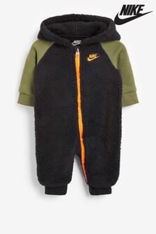 Salopetă întreagă pentru bebeluși din lână sintetică de fleece Nike