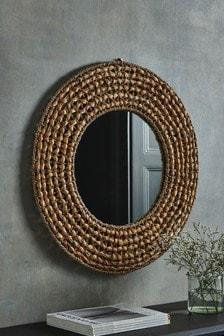 Spiegel aus Seegras