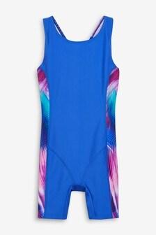 Sport-Badeanzug mit langem Bein (3-16yrs)