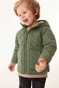 醒目菱格紋外套 (3個月至7歲)