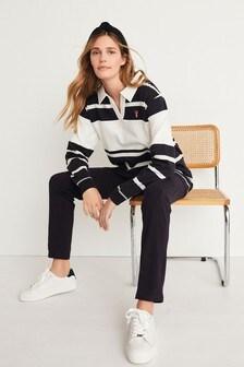 Cotton Blend Rugby Legging Pyjamas