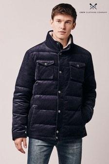 Crew Kläder Blue Stillman Cord Jacket