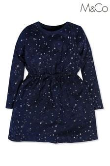M&Co Kleid mit Sternprint