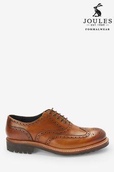 Oxfordské topánky s vyrazeným vzorom Joules