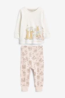 Pijamale confortabile cu Peter Rabbit (9 luni - 8 ani)