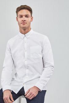 חולצת אוקספורד עם שרוול ארוך
