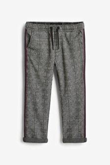 Pantalon à rayures à carreaux (3-16 ans)
