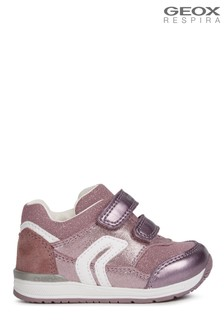 Geox Baby Girls Rishon Pink Shoes