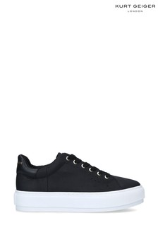 Kurt Geiger London Black Laney Recycled Trainers