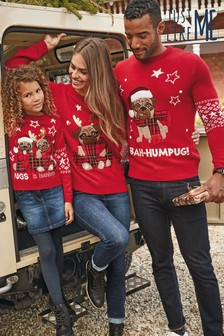 Women's Matching Family Bah Humpug Jumper