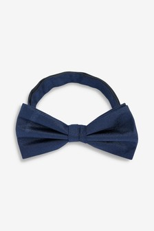 Plain Silk Bow Tie