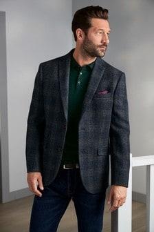 Tailored Fit Harris Tweed Signature Blazer
