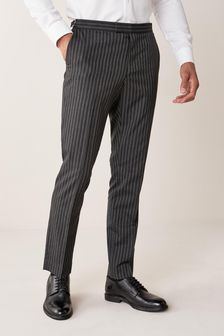 Slim Fit Morning Suit: Trousers