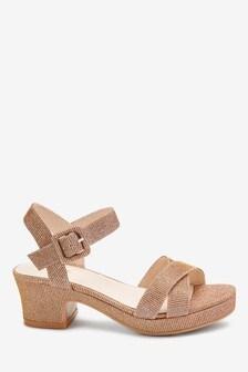 Płaskie sandały (Starsze dziewczynki)