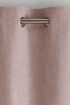 Bouclé fűzőlyukakkal bélelt függönyök