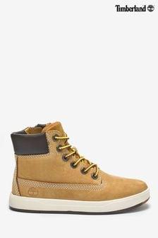 Timberland® Tan Nubuck Davis Square 6 Inch Boots