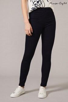טייץ ג׳ינס כחול דגם Amina Darted של Phase Eight