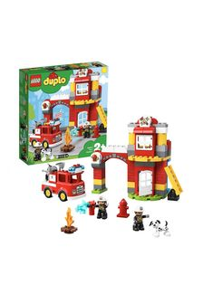 Конструктор LEGO® DUPLO® Fire Station Toys For Toddlers 10903