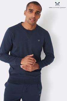 Crew Clothing Company Blue Crew Neck Sweatshirt