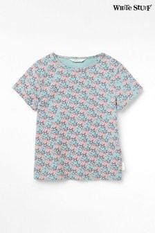 Detské zelené džersejové tričko White Stuff Superstar