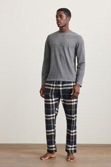 Signature Motionflex Brushed Woven Pyjama Set (927532)   $42