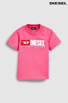 Camiseta con logotipo para bebé de Diesel®