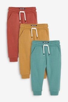 Спортивные брюки из мягкого трикотажа (3 пары) (3 мес.-7 лет)