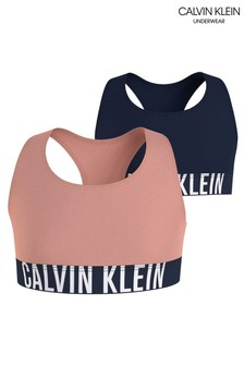 Набор розовых топов-бра Calvin Klein Intense Power (2 шт.)