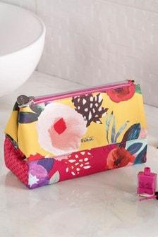 花卉折疊化妝包